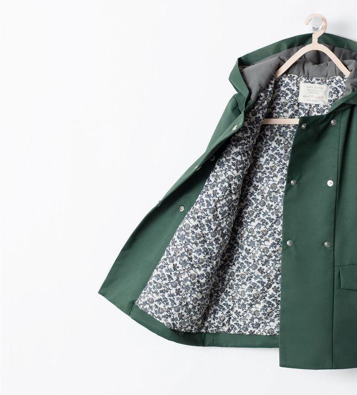 Image 1 de Trench double rangée de boutons de Zara