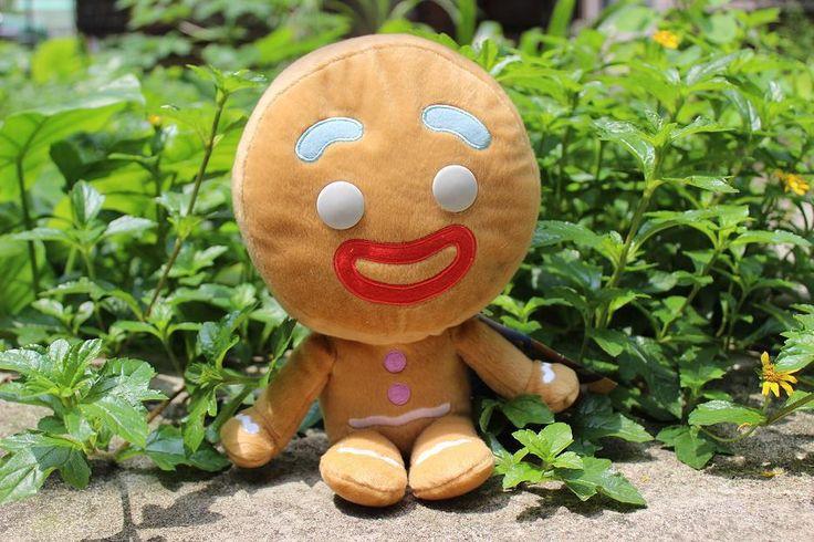 Pas cher 25 cm pelucia Shrek pain d'épices homem de gengibre jouet cadeau d'un homme le fils de l'homme Shrek en peluche véritable Shrek 4 cadeau de noël, Acheter Films et télévision de qualité directement des fournisseurs de Chine: 1. taille: 25C M 2. matériel: peluche