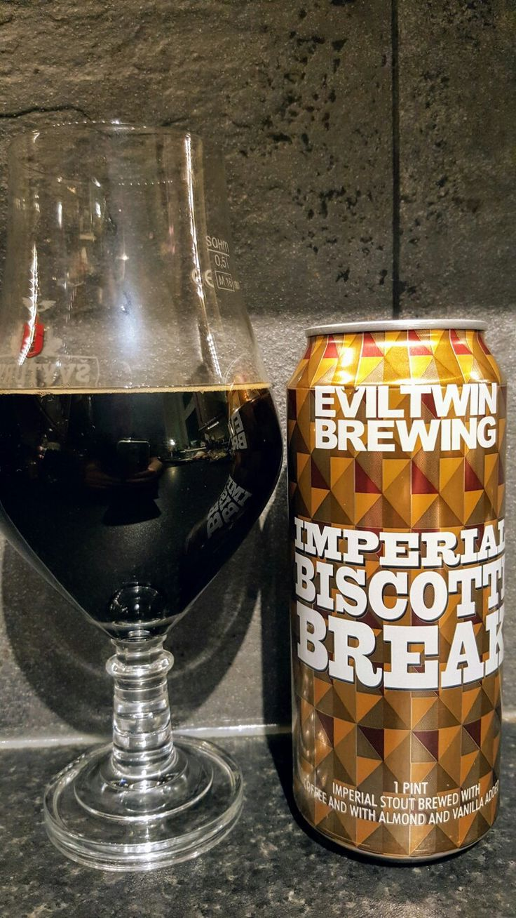 Evil Twin Brewing Imperial Biscotti Break. Watch the video beer review here www.youtube.com/realaleguide   #CraftBeer #RealAle #Ale #Beer #BeerPorn #EvilTwinBrewing #EvilTwin #EvilTwinImperialBiscottiBreak #ImperialBiscottiBreak #AmericanCraftBeer #AmericanBeer