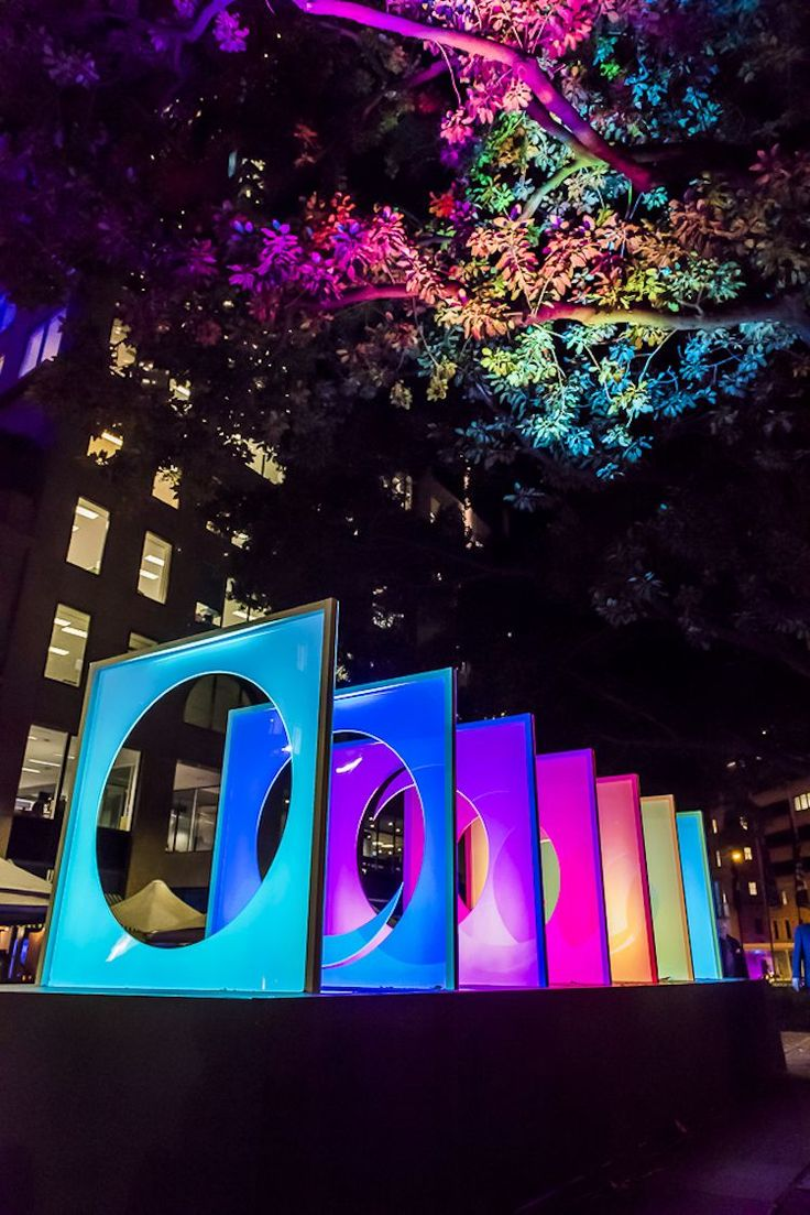 The annual Vivid Sydney festival is a feast for the eyes, with over 90 art installations across the city.