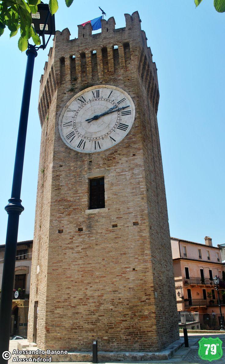 Torre dei Gualtieri #SanBenedettoDelTronto #Marche #Italia #Italy #Viaggio #Viaggiare #Travel #AlwaysOnTheRoad