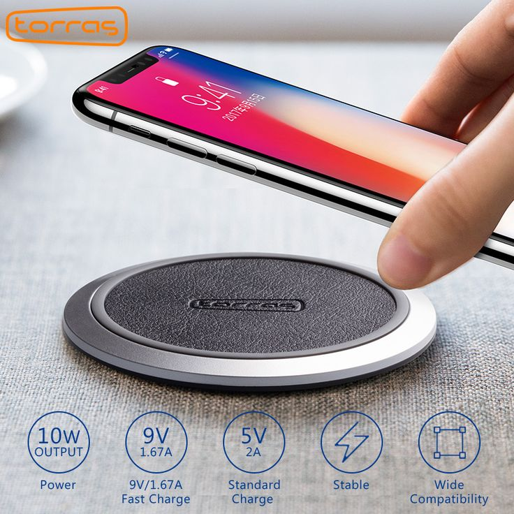 Original Qi Wireless Charger Adapter Pad For iPhone X 8 Samsung Galaxy S8 Edge Google Nexus 4/5 Lumia Wireless Charger