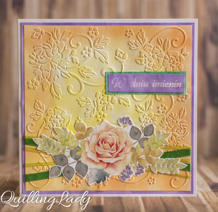 Happy Saturday! The weather is lovely and summery so is my card today with vibrant colours and beautiful flowers :)     Happy crafting!    ...