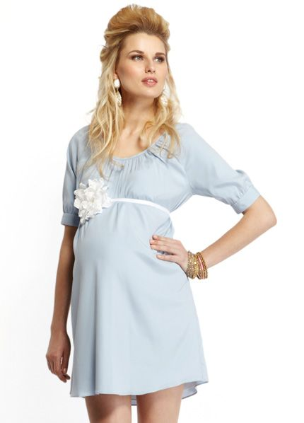 More Of Me - Blue Baby Shower Dress kinda expensive but had it in pink or blue CUTE!!