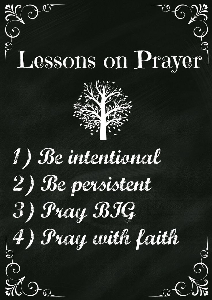 Lord's Prayer Lesson #1 – What is Prayer?