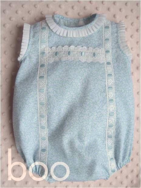 Patron pelele bebé - Imagui