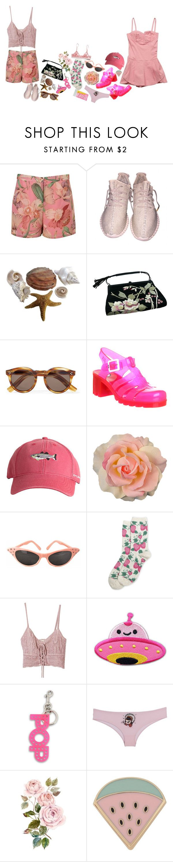 """""""But I can't swim"""" by spiced-pistachio ❤ liked on Polyvore featuring Tom Ford, Illesteva, Baby Phat, JuJu, Harding-Lane, HOT SOX, Jens Pirate Booty, STELLA McCARTNEY, Dsquared2 and Charlotte Ronson"""