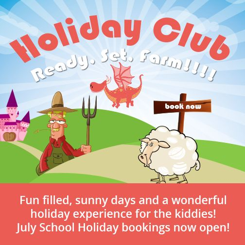 Welcome to Ready, Set, FARM! This holiday club camp provides fun and interesting activities for boys and girls in a safe and caring environment. Exciting new activities, as well as old favourites are scheduled each holiday period. Bookings are now open for the July School holidays, please contact us on 082 500 9613 for more info