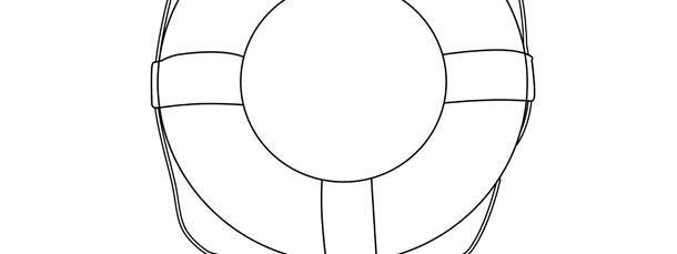 Life Preserver Ring Template Large Life Preserver Ring Life