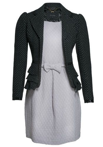 moda-blazer-poliester-la-renner-vestido-algodao-le-chantier.jpg (350×500): Roupas Sociais, Roupa Sociai, Things To, Guarda Roupa, Cute Dresses, Lindo Vestidos, Coisa Para