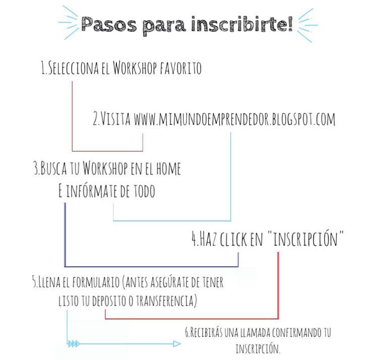 Instagram @mundoemprendedor  www.mimundoemprendedor.blogspot.com