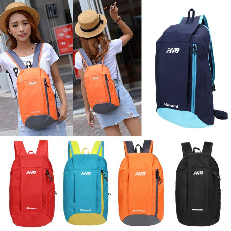 Women Daily Backpacks Girl Bag Canvas Outdoor Knapsack 5 Color Travel Sports lona Camping Rucksack Schoolbag Softpack Pocket