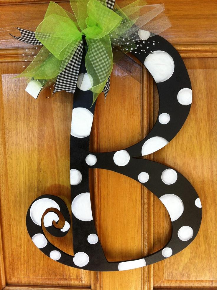 letters for front doorBest 25 Letter door hangers ideas on Pinterest  Initial door