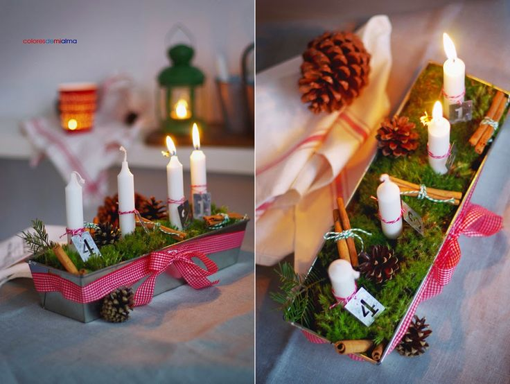 advent candelstick