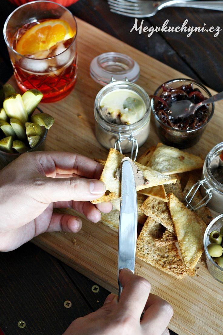 Brusinková paštika zkuřecích jater stymiánem a Cinzanem a koktejl Americano | Aperitivo Moment 2016 | Meg v kuchyni