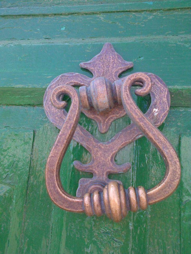 huge old door knockers