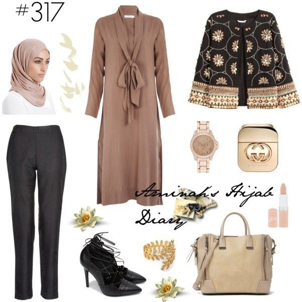 Hijab Fashion 2016/2017: Aminahs Hijab Diary #hijab #modest #fashion #style #look #outfit #ootd #aabcollection #inayah #hm #muslimah #germany