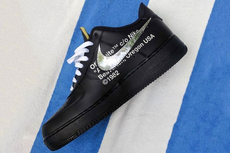 Another Off-White x Nike Air Force 1 Low Is Revealed