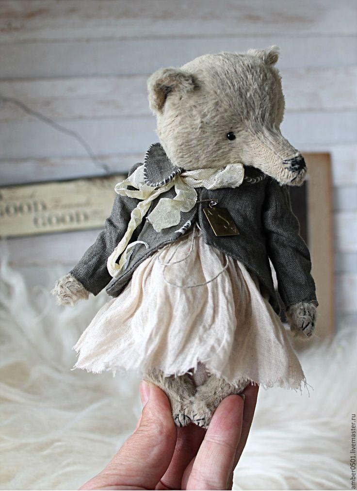 Купить Lynn - кремовый, тедди, тедди мишка, медведь, медведь тедди, вискоза Германия