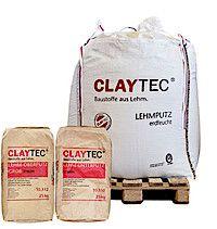 CLAYTEC: Lehmputz mit Stroh