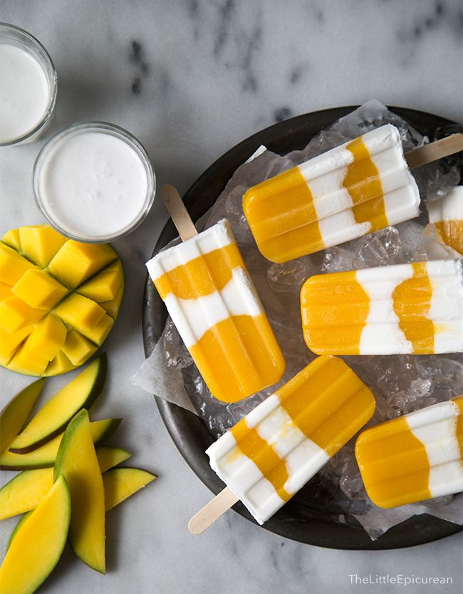 When you need a 10-minute vacation, these coconut mango popsicles will help take you to a tropical destination. Sweet, satisfying, and easy to make, these frozen popsicles are a great summer treat!
