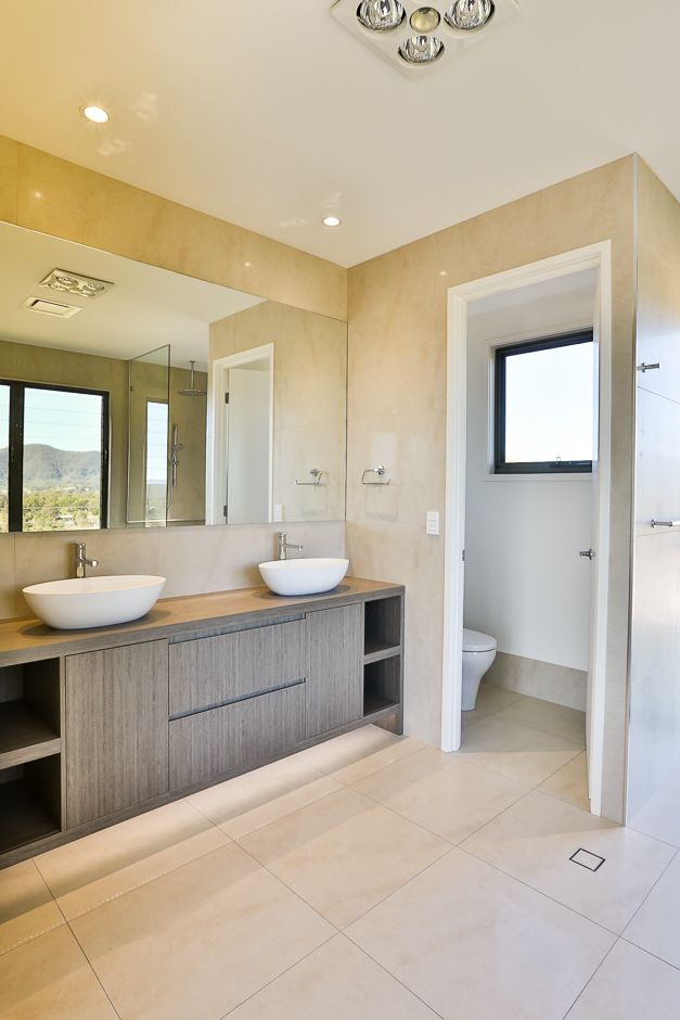 (c) Photo Sarah Whyte Photography   Main Bedroom Ensuite with Double Vanity