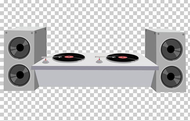 Disc Jockey Dj Mixer The Dj Booth Drawing Png Art Audio Audio Equipment Car Subwoofer Cartoon Dj Booth Disc Jockey Dj