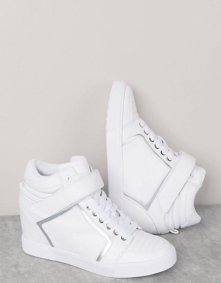 Sneaker con zeppa - Sneakers - Bershka Italy