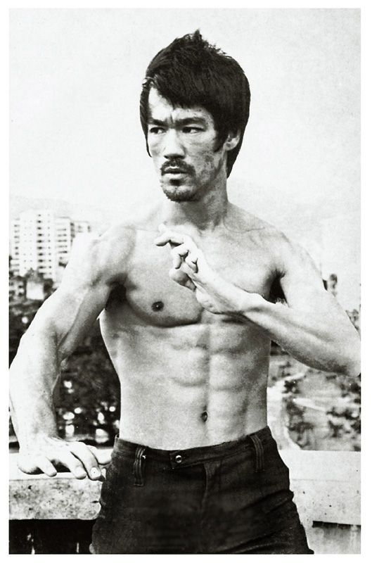 Bruce Lee of Course...Don't miss all of the heavenly glory ok folks