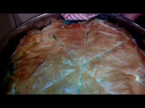 Řecké recepty s Ivou - domácí špenátový koláč - Řecký eshop