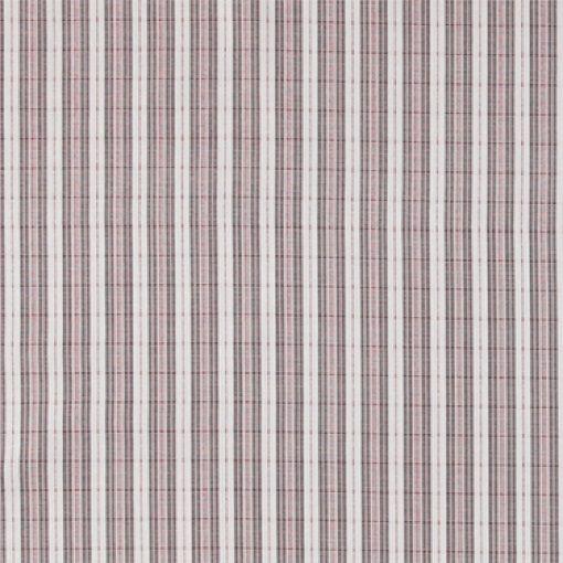 Bomull mørk/lys grå/rød striper