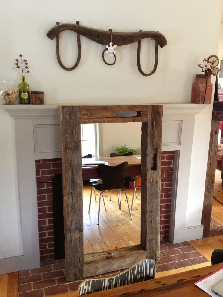 Can Order Custom Size Mirror. Reclaimed Timber Frame By Riverswift.  Etsy,$265.00