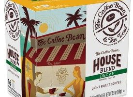 The Coffee Bean and Tea Leaf Decaf House Blend Light Roast K Cups 16ct