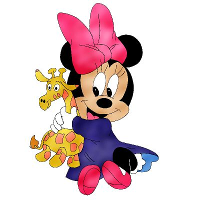 Minnie Mouse Baby Clip Art - Disney And Cartoon Baby Images