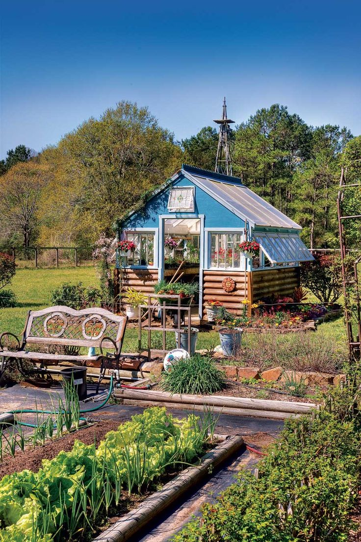 Use recycled materials to create an affordable garden greenhouse so you can enjoy fresh food all year long!