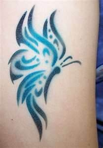 Tattoo Meanings Blue Butterfly Meaning Tattoos