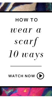 How to wear a scarf 10 ways by Stella & Dot. Pin this to try a new look each week!