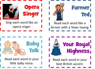 Fun voices to read with!