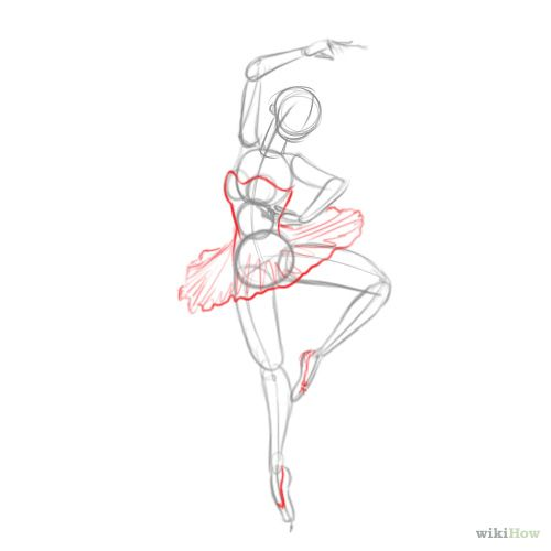 How to Draw a Ballerina: 6 Steps (with Pictures) - wikiHow