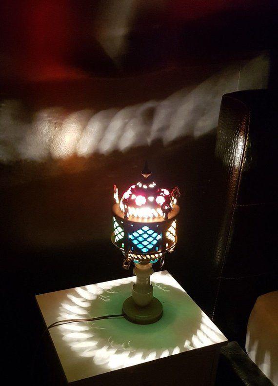 Tischlampe Orientalisch Mit Alabasterfuss Orientaltische Etsy Novelty Lamp Lamp Decor