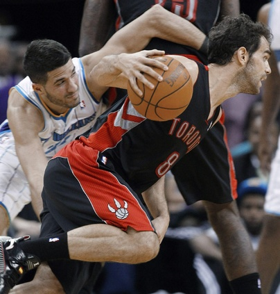 Toronto Raptors rally to beat New Orleans Hornets