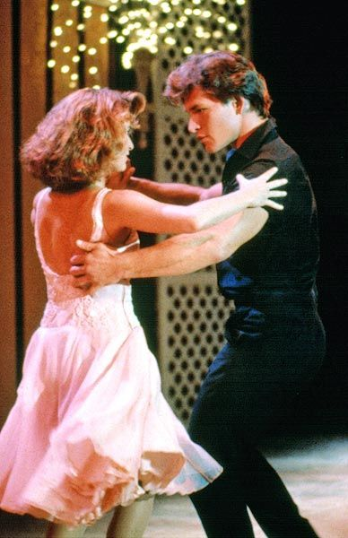 """Dirty Dancing"" (1987) No movie has come close to knocking this hit off its pedestal. Patrick Swayze is Johnny Castle, the hunky dance instructor in a  Catskill Mountain resort. His dance partner falls ill, Baby (Jennifer Grey) learns to dance in secret with Johnny. She naturally falls in love with him. And, of course, he falls for her, too. There's quite the Shakespearean ending with an edgy group dance & the classic line, ""Nobody puts Baby in the corner."""
