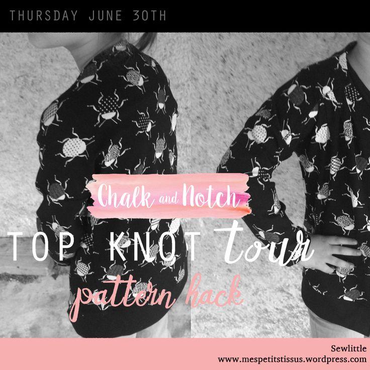 Aujourd'hui je participe au Top Knot Tour organisé par la sublime Gabriela de Chalk&Notch. Trois jours de créations avec des couturières très inspirantes que je vous invite à découvrir su…