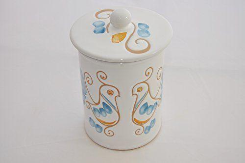 Barattolo con tappo h.18 Kernos Ceramiche