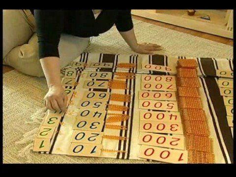 Montessori Math Methods : The 45 Math Montessori Materials