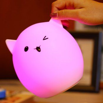 GET $50 NOW | Join Dresslily: Get YOUR $50 NOW!http://m.dresslily.com/ombre-usb-charging-pig-cartoon-night-light-product1697168.html?seid=djvMOQj40Cdl6bQlAfI29U1SCC