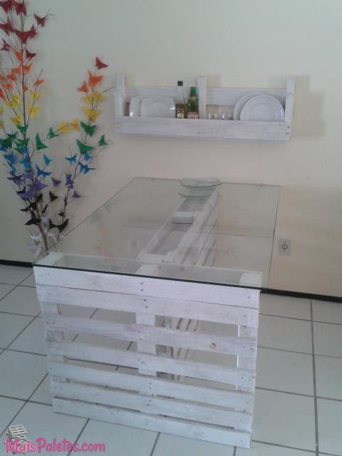 Mesas de Cozinha com Pallet