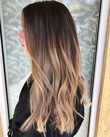 33 long shadow hairstyles – #hairstyles #long #sha…