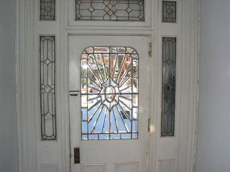 Stained Glass Front Entry Door With Side Panels Bing