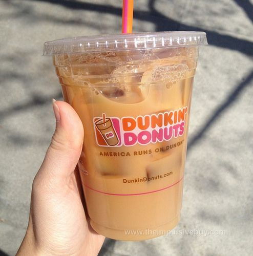 REVIEW: Dunkin' Donuts Cookie Dough Iced Coffee | Dunkin ...